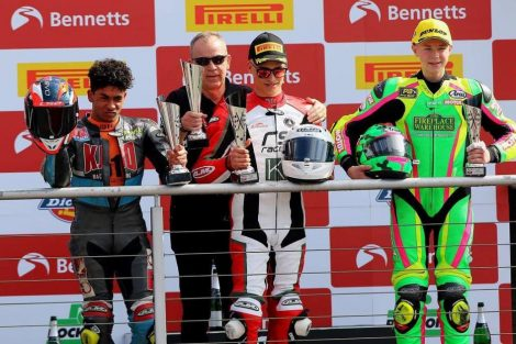 Jake Archer takes podium at Brands Hatch