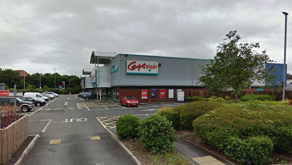 Carpetright Andover (image courtesy of Google Map)