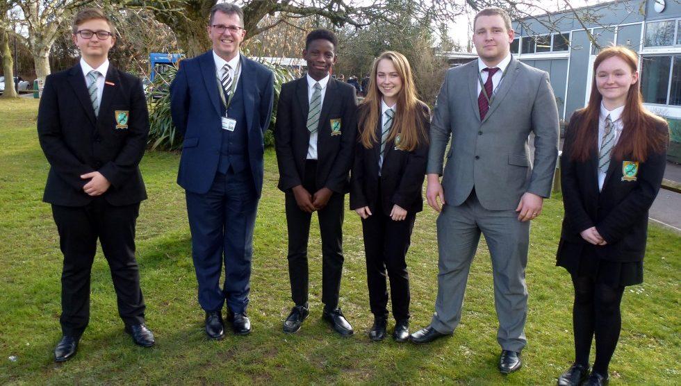 Harrow Way New Student Leadership Team 2018