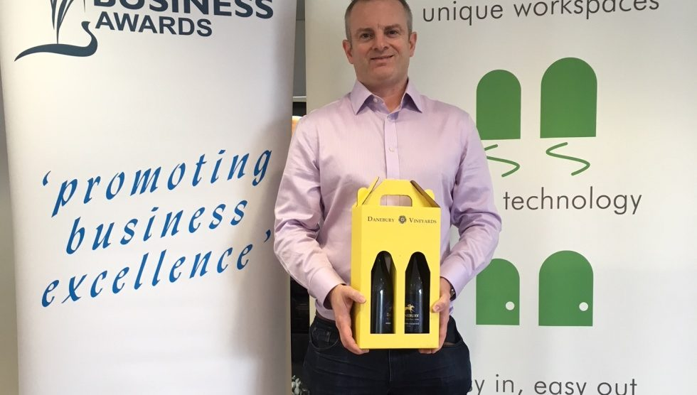 James Gibbons of Link Creator Limited – winner of last week's entry prize