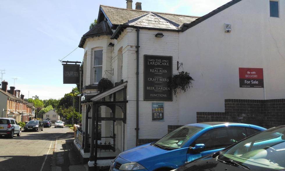 The Lardicake Pub in Adelaide Road, Andover