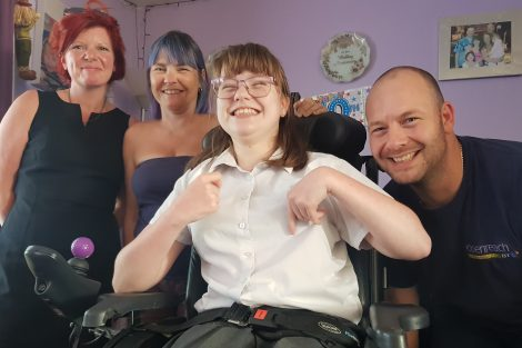 Stacie Stroud Andover Cerebral Palsy