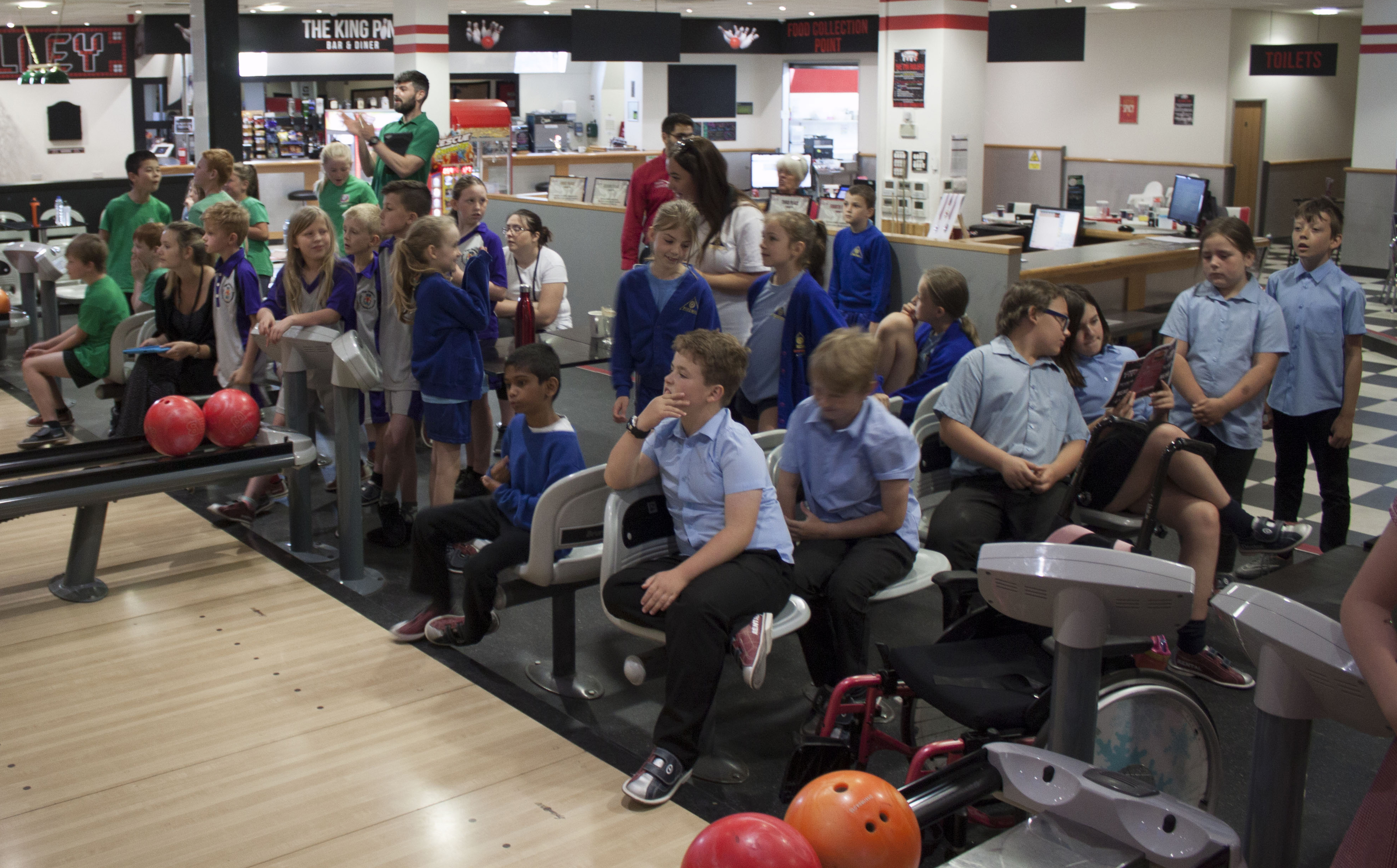 riverside bowl Inter School's Bowling Tournament.