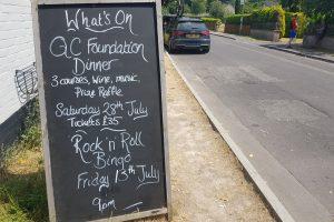 QC Foundation Queen Charlotte Inn Andover Fundraising Dinner