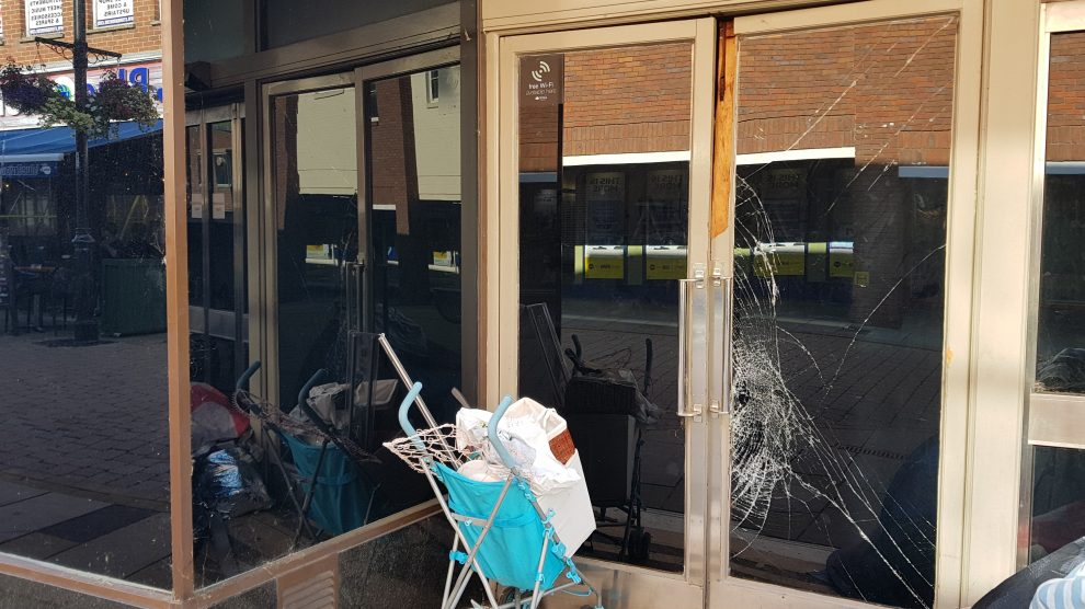 Break-in: M&S Andover