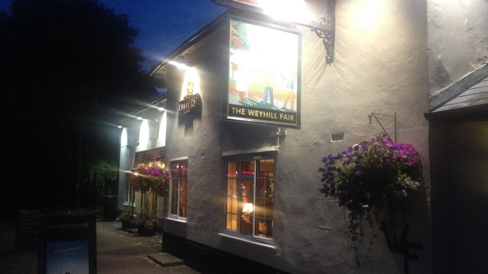 Weyhill Fair Pub Andover
