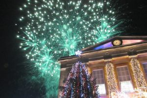 Andover Christmas Lights Switch On