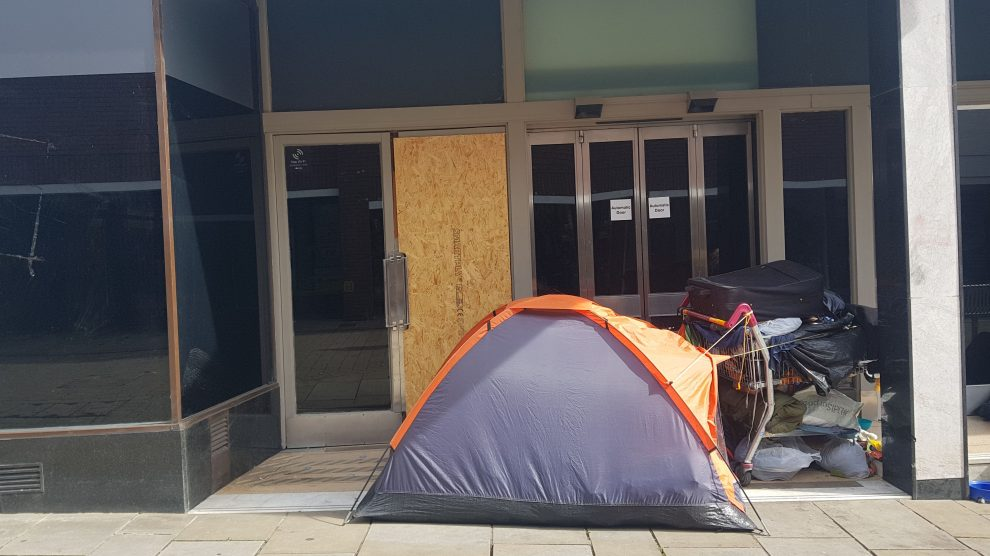Homelessness in Andover