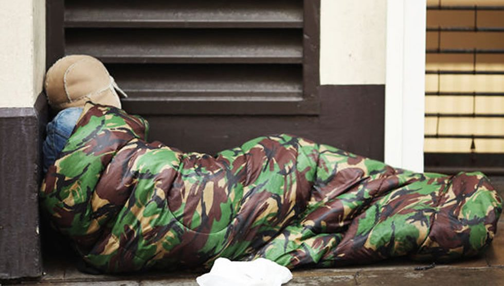 Homeless UK Military Veteran Andover Test Valley Council