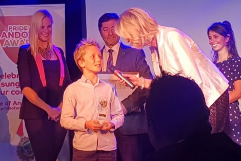 Pride of Andover Awards Nuno Porter-Bessant