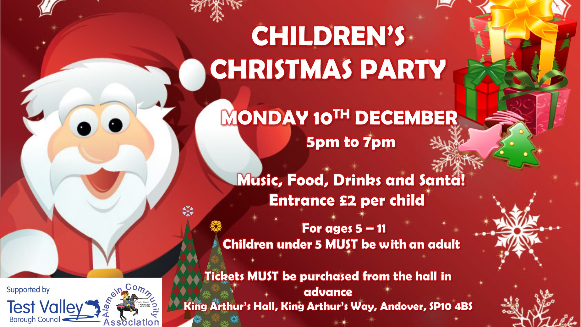 King\'s Kids Christmas Party – Love Andover