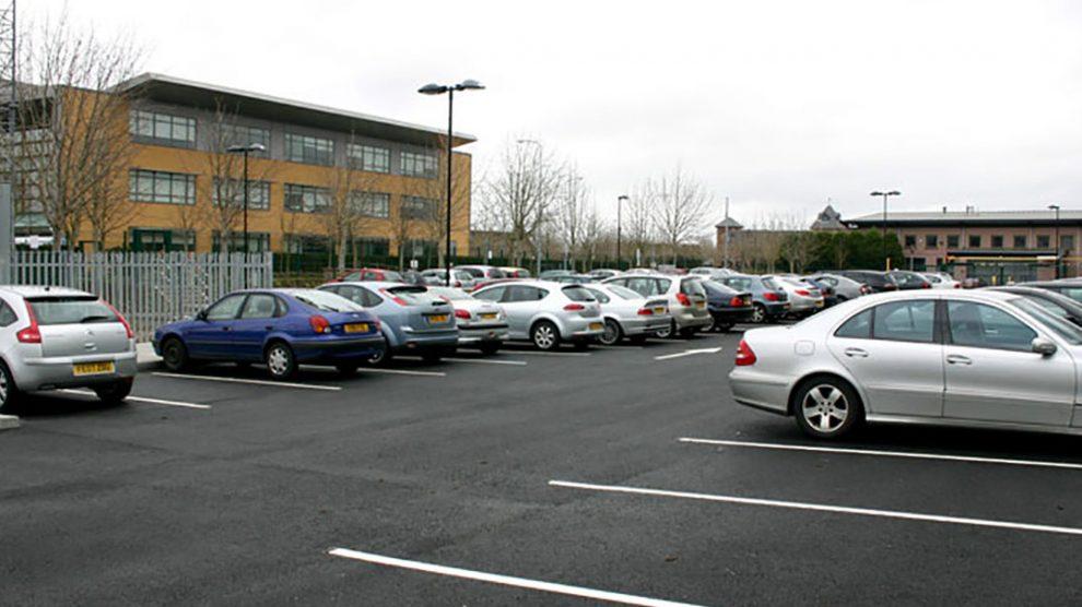 Car park cars