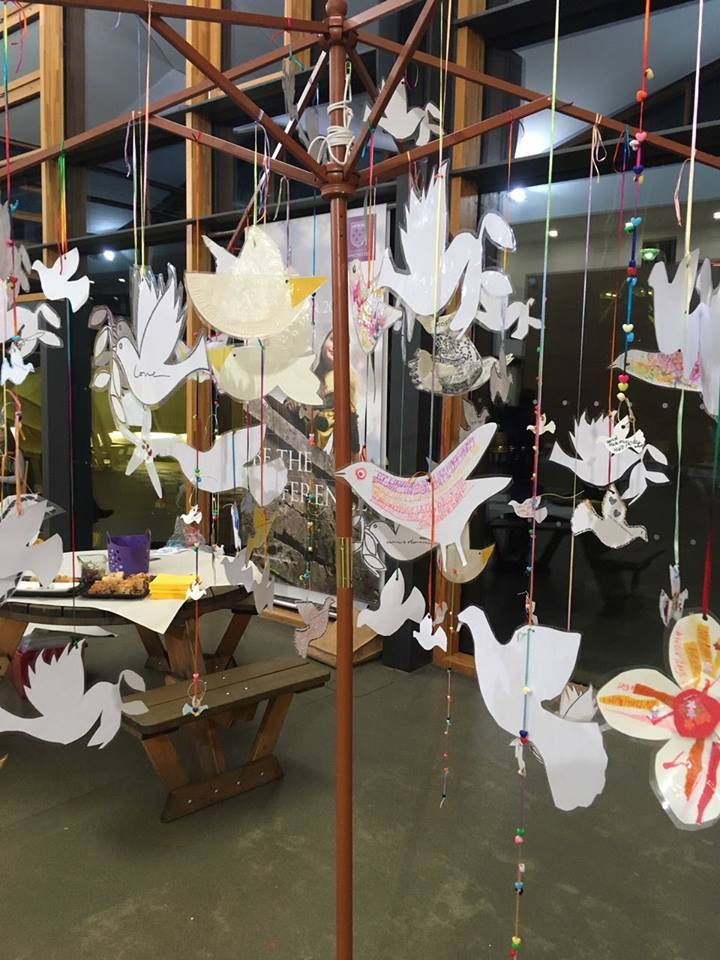 Hope Peace And Remembrance A Community Art Installation