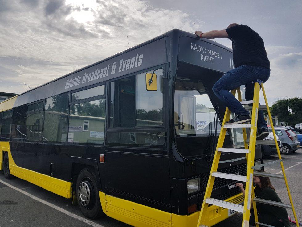 Andover Radio Love Bus renovation project