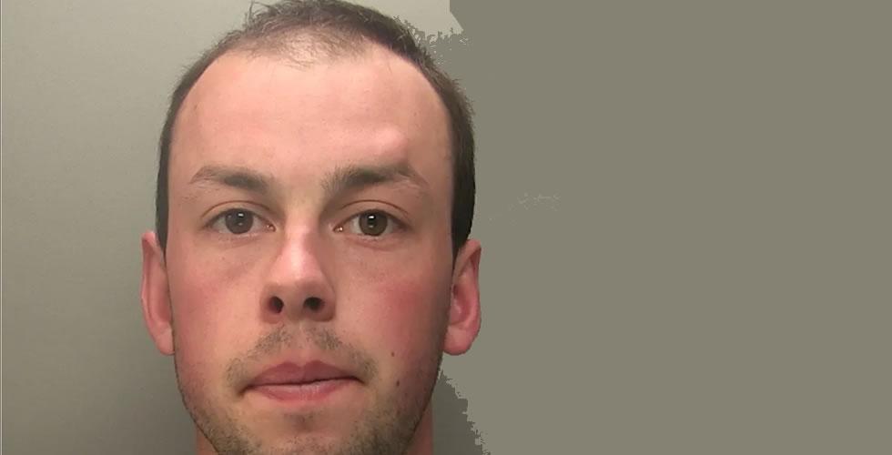 Ben Harvey Andover Jailed