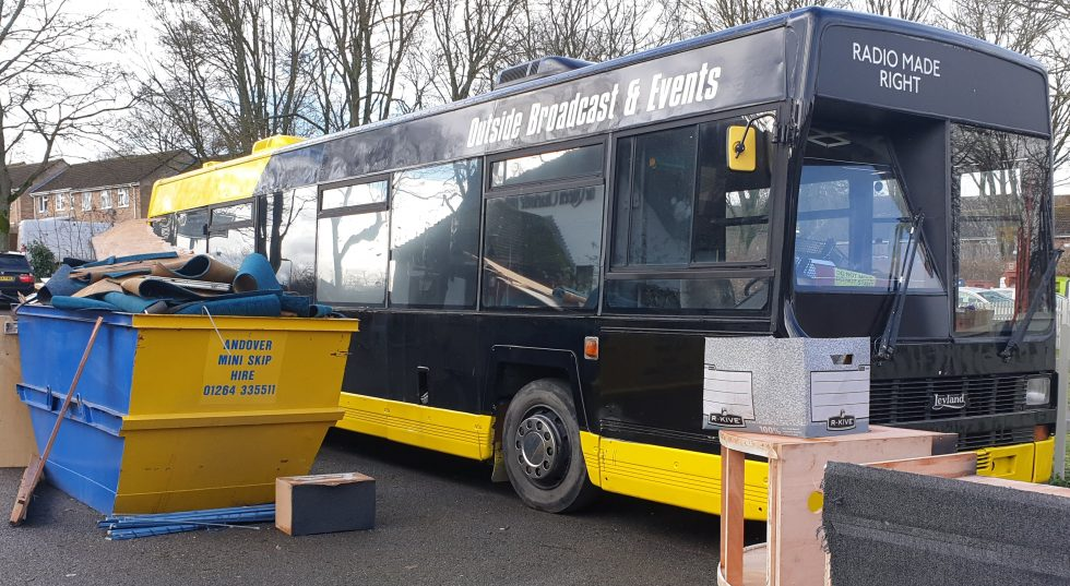 Love Andover Radio Bus Renovation Project from DCMS Big Lottery Fund