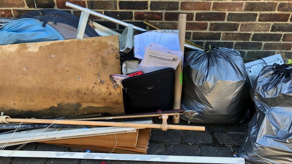 Fly tipping Test Valley Borough Council