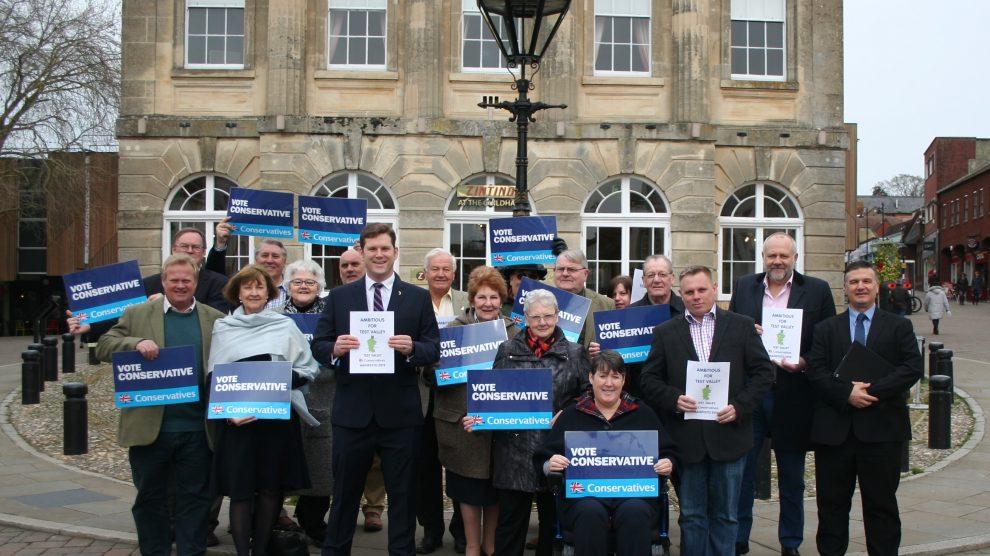 Conservative Manifesto Launch Photo