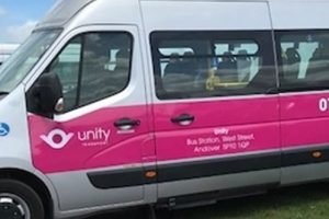 Unity Andover minibus drivers wanted