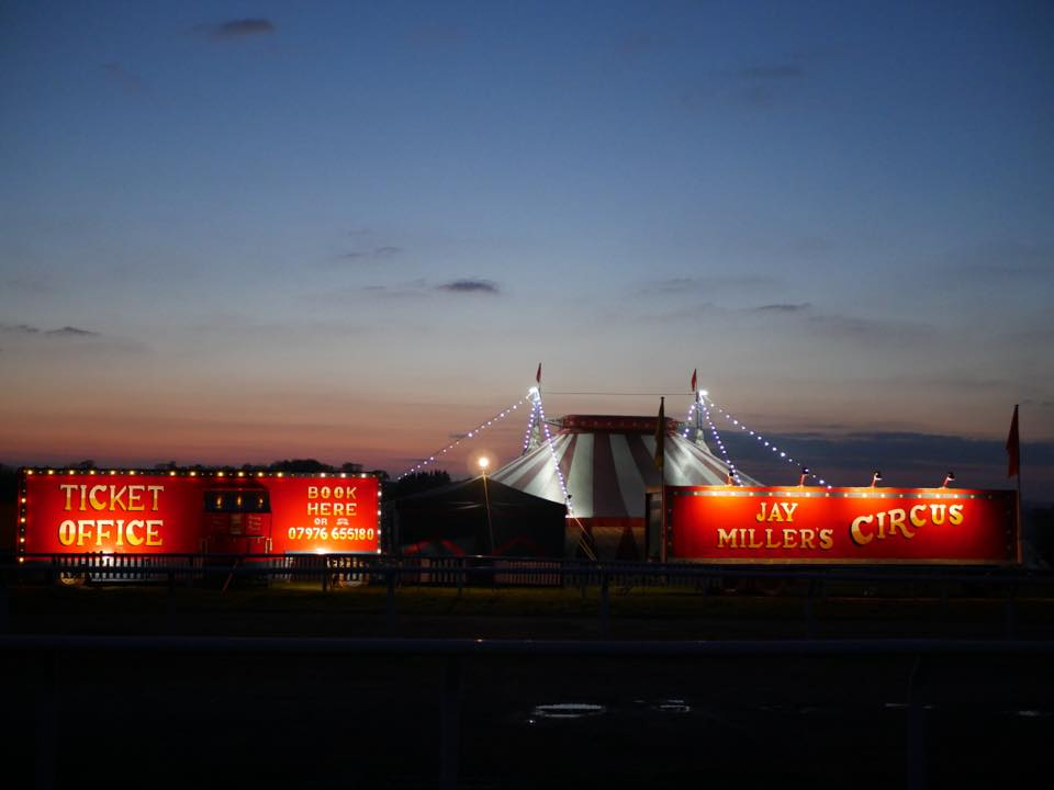 Jay Miller's Circus is coming to Andover