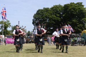 Armed Forces Day 2018 Southern Jacobites Pip Band Andover