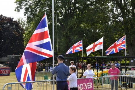 Andover Armed Forces Day 2018 Flag Raise