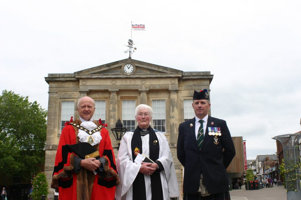 Andover raises the flag for Armed Forces Day 2019