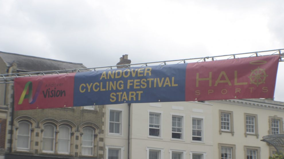 Festival of cycling Banner