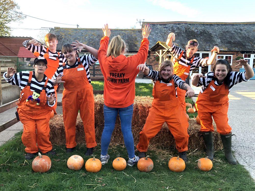 Freaky Down Farm Halloween Half Term