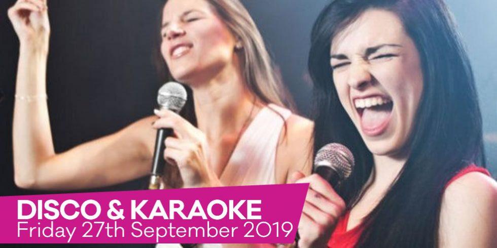 Queen Charlotte Andover September 2019 Disco and Karaoke