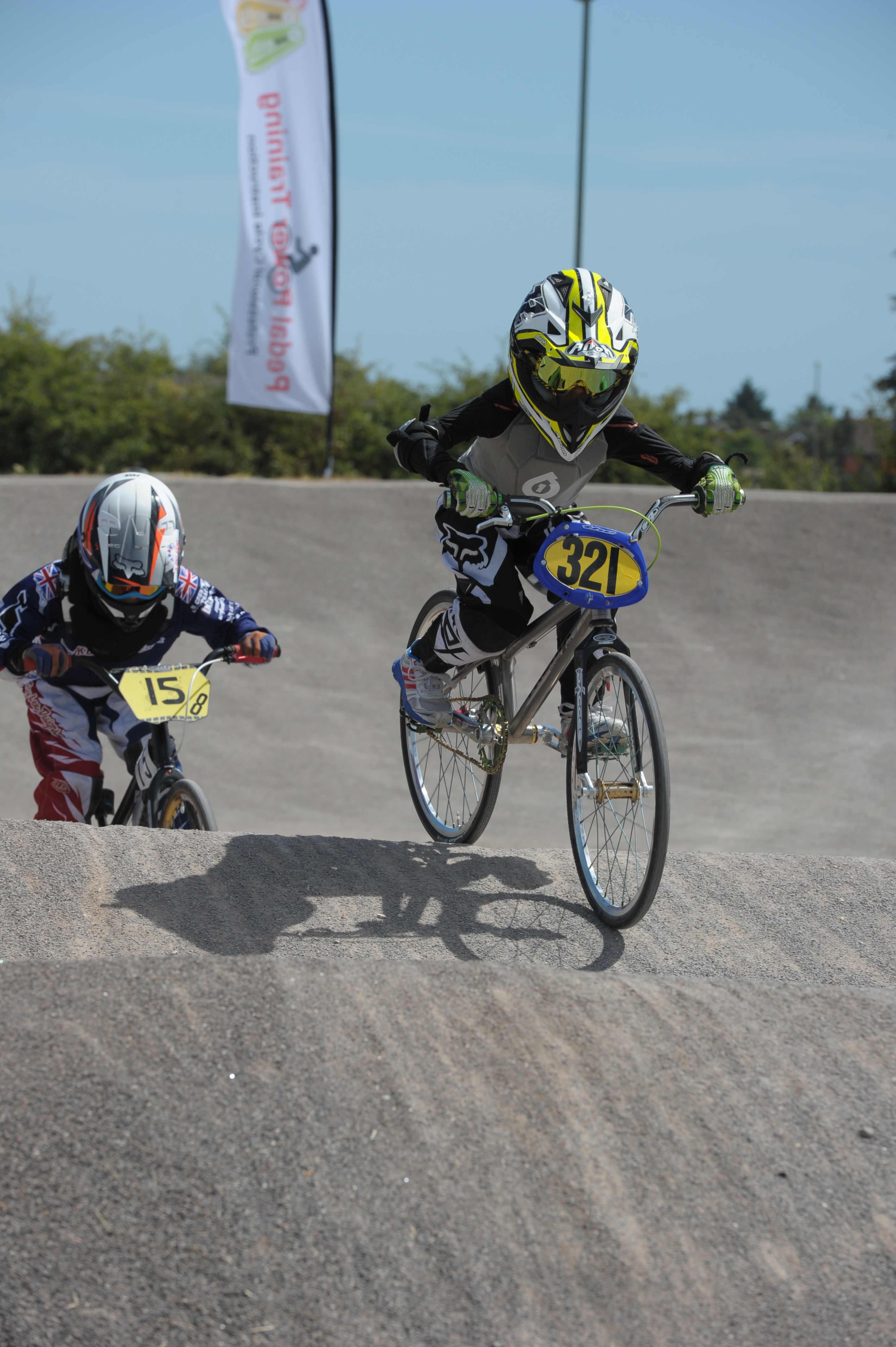 Region BMX Event at Gosport BMX Track