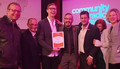 Alex Krupa Andover Radio Community Radio Awards 2019
