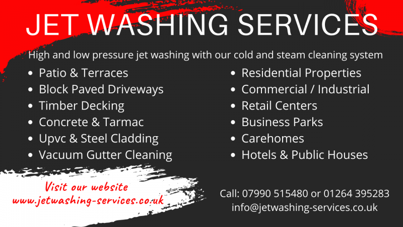 Jet Washing Services