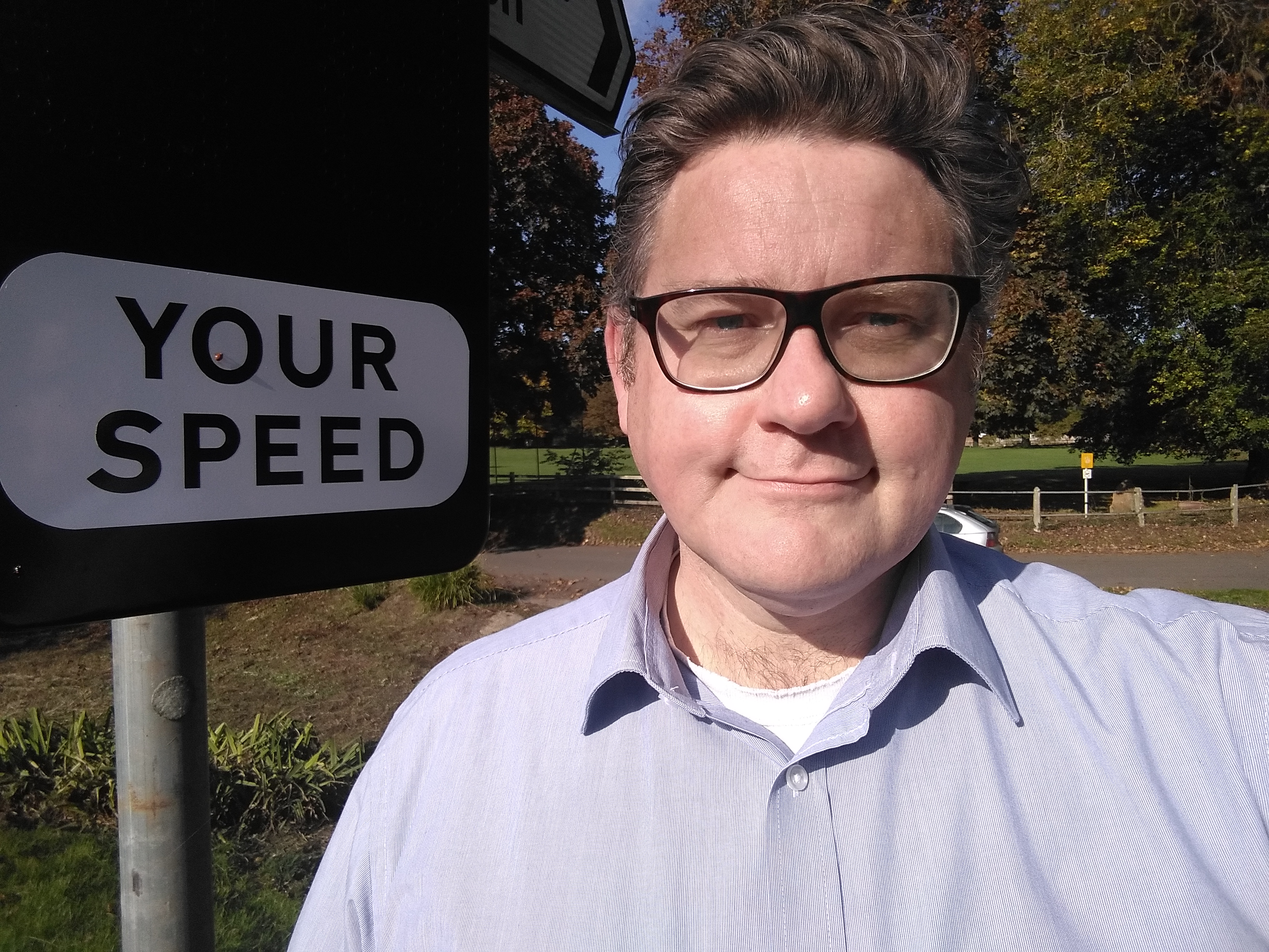 Cllr Richard Rowles Speed Signs Andover