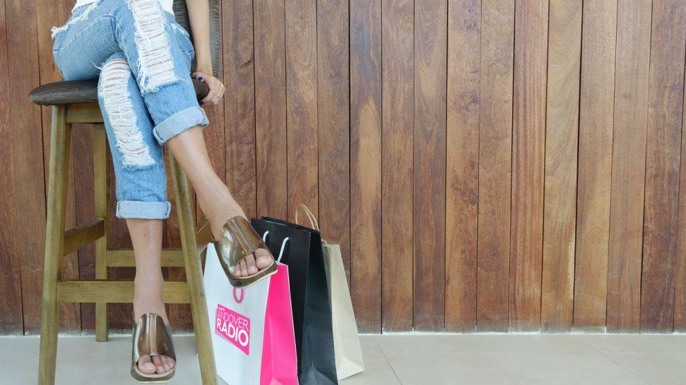 Andover high street shopping