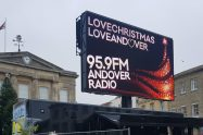 Andover Christmas Lights Big Screen Radio