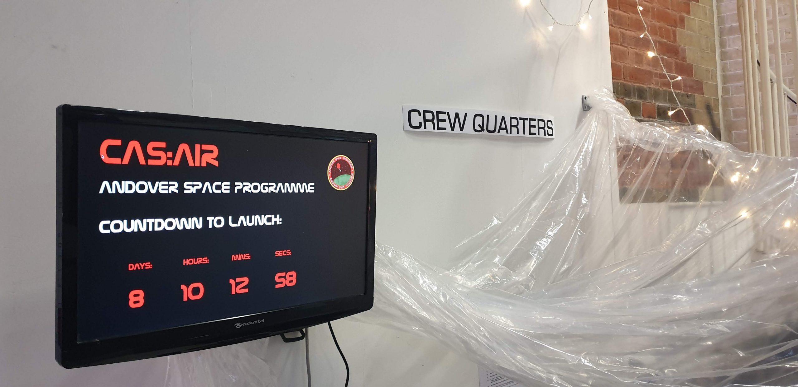 CAS Air Space Andover Space Programme