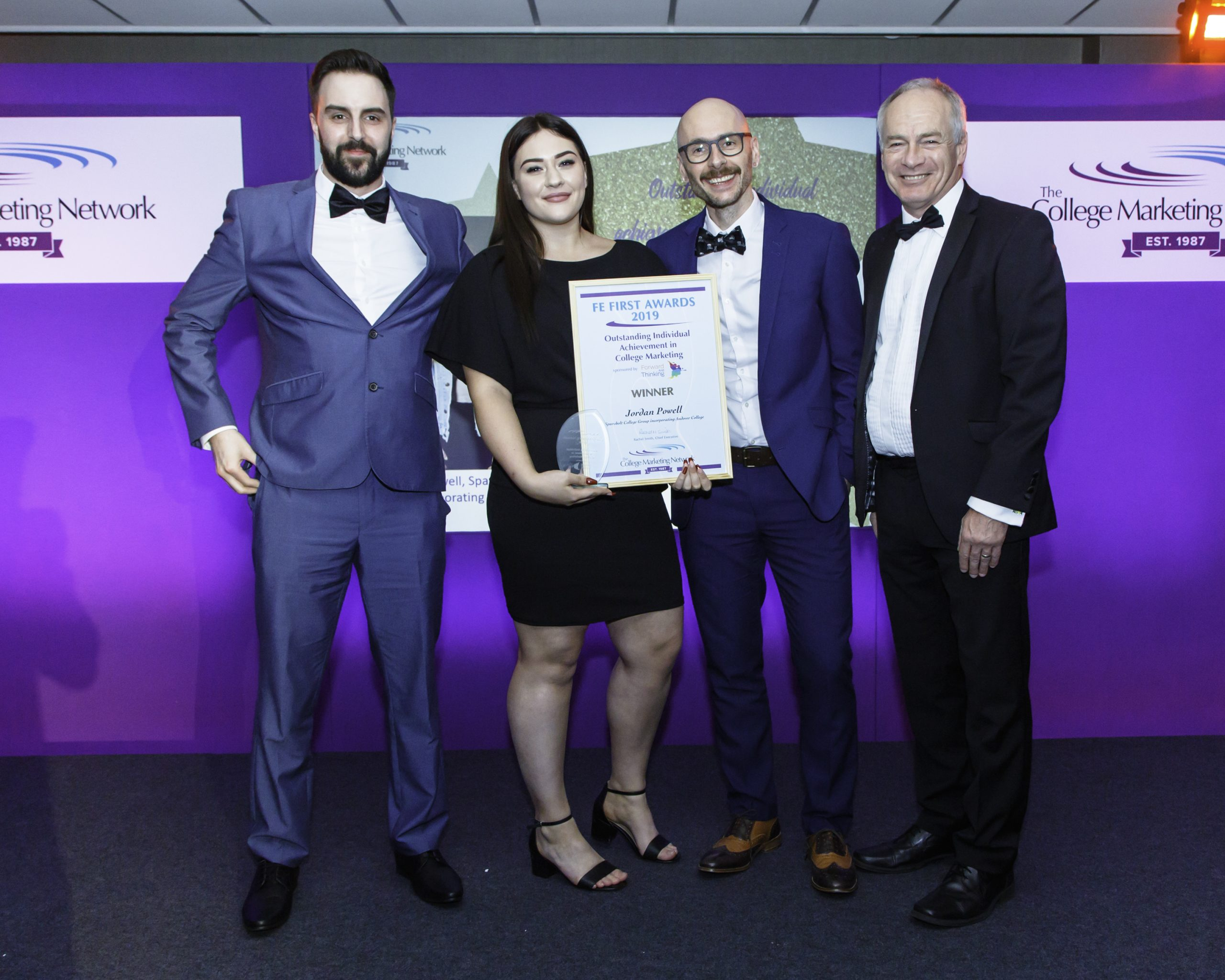 Jordan Powell, 19 , wins Outstanding Individual Achievement at National Further Education First Awards (1)