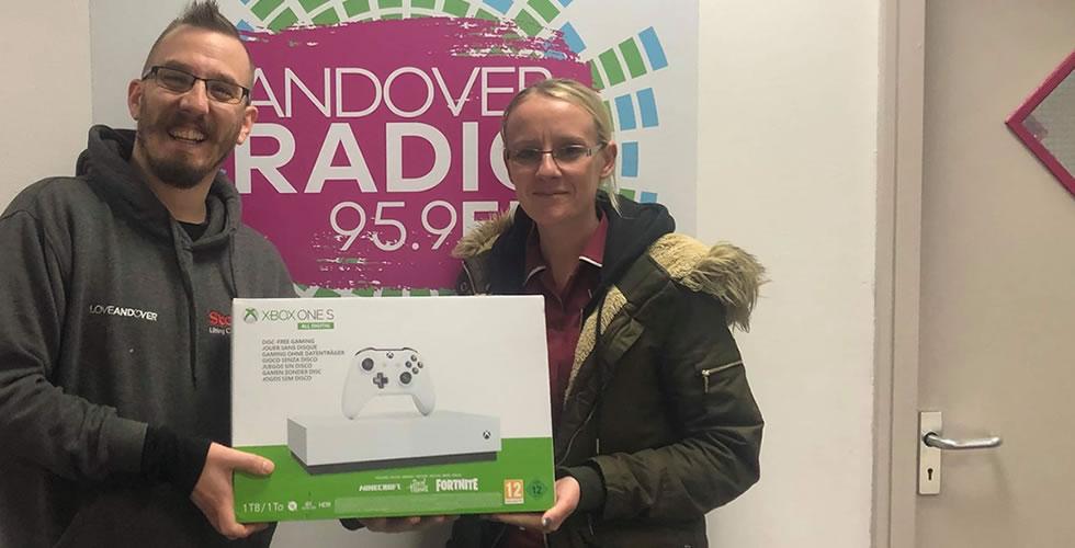Xbox Winner Michaela Waite Andover Radio