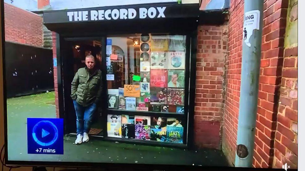 Record Box Andover