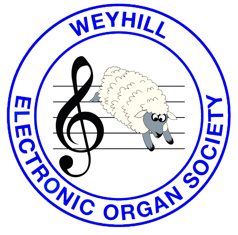 WEOS logo badge (royal blue)