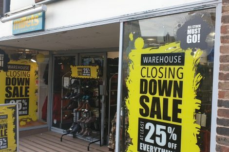 Millets Andover Not Closing Down