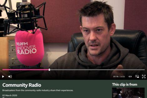 BBC Village Loudspeaker David Harber Andover Radio