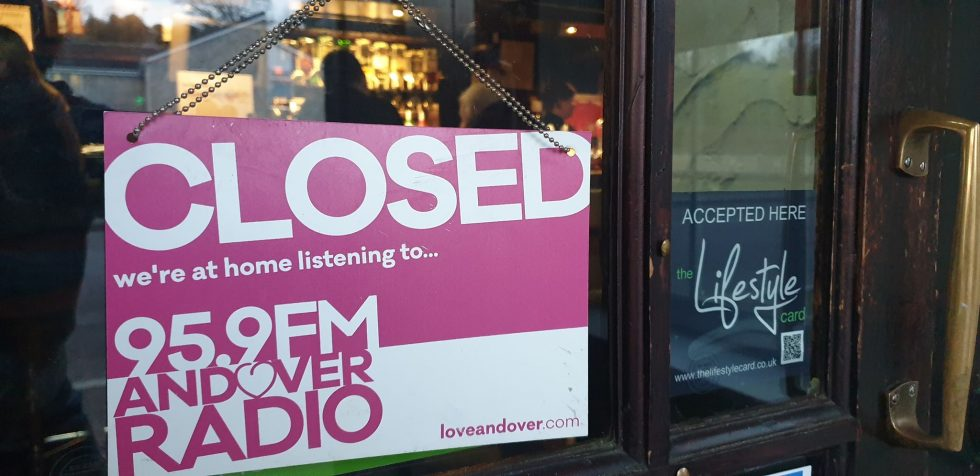 Andover Pub Closed