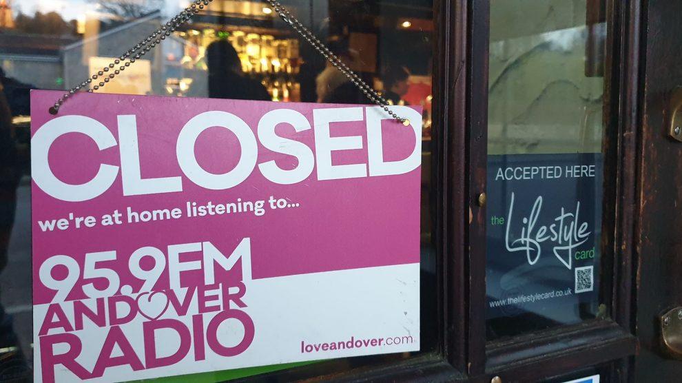 Andover Pub Closed