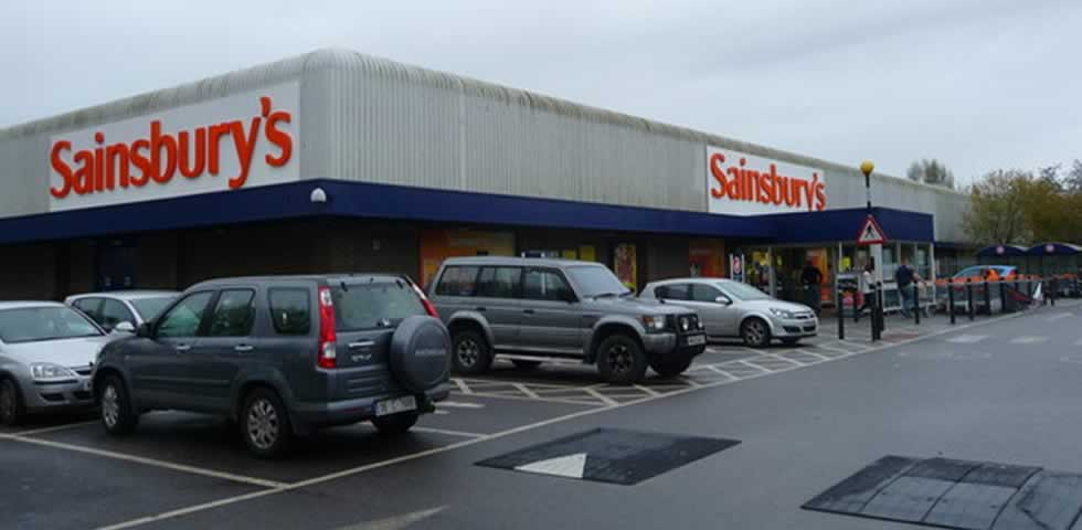 Sainsburys Andover cornonavirus