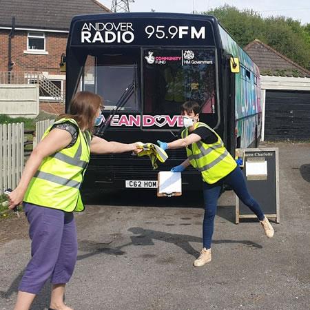 Andover Radio Love Bus lockdown