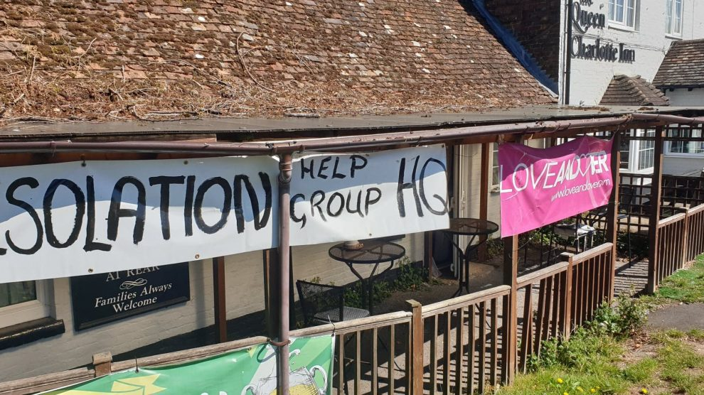 Andover Isolation Help Group Queen Charlotte Inn
