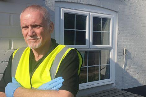Lockdown Legend Keith Skitt Andover Isolation Help Group