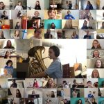 237 young Hampshire musicians produce stunning isolation video